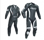 RST Tractech Evo 3 Leather Suit 1 Piece Black White